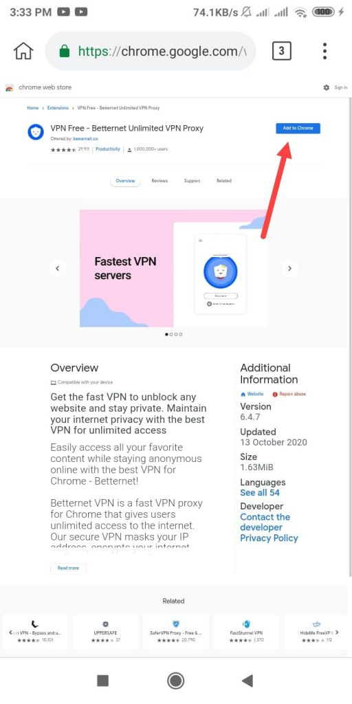 extensions add to chrome